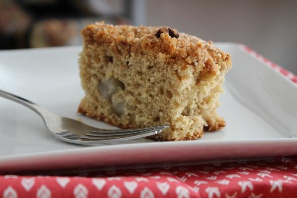 pear cinnamon cake