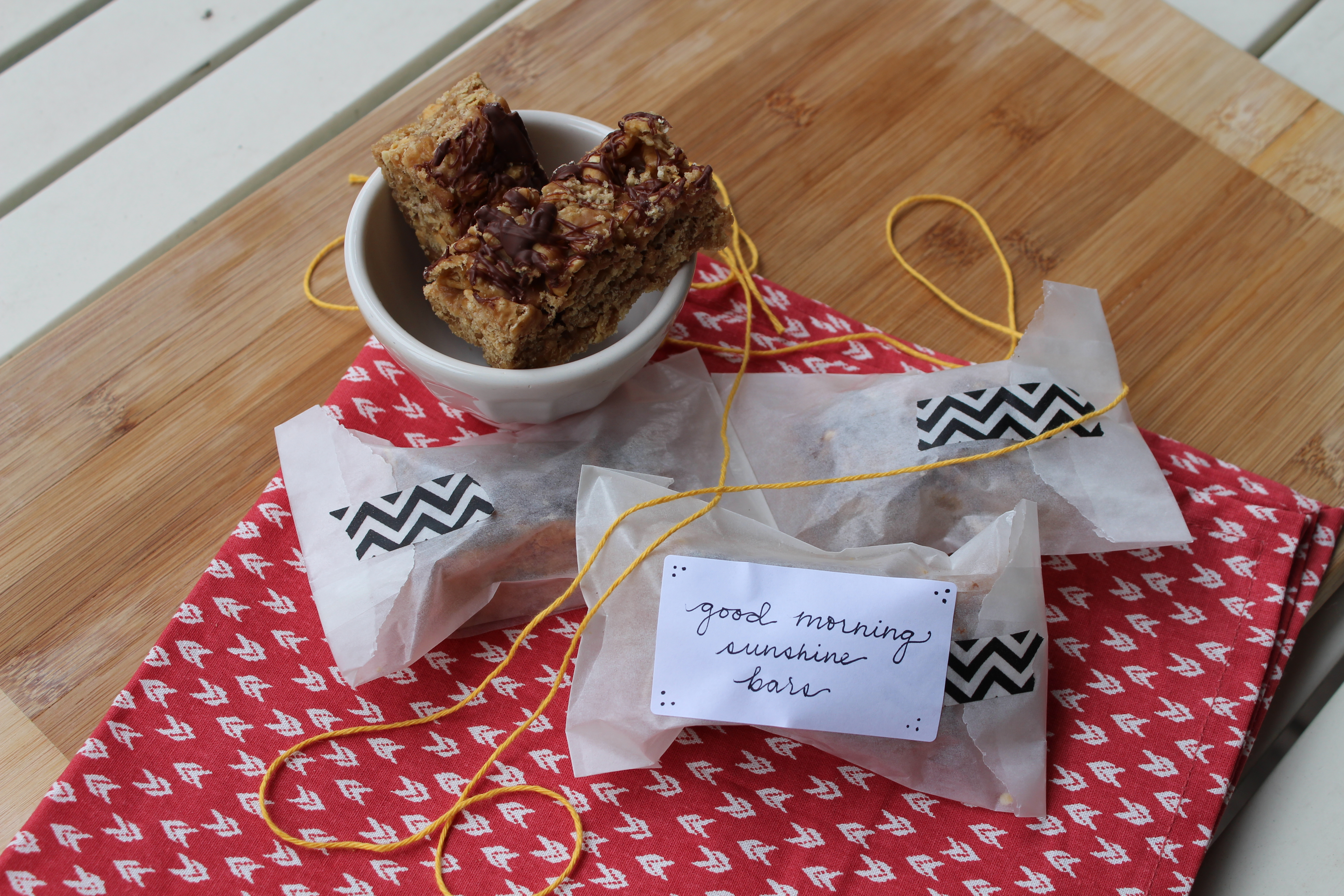 Rice Krispie Treats With Chocolate, Toasted Walnuts And ...