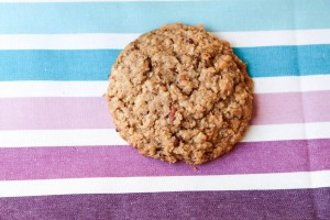 oatmeal pecan cookie -