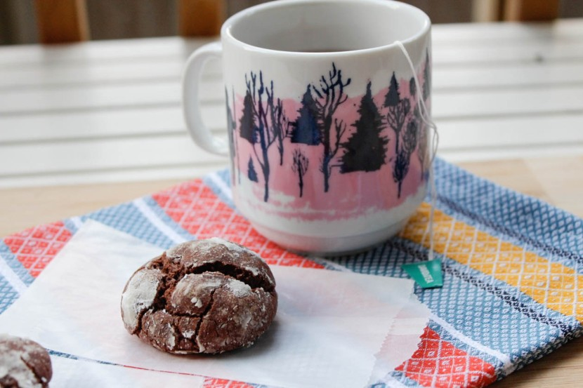 cookie and mug-