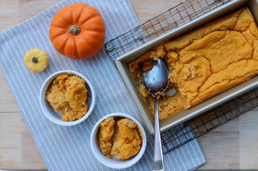 pumpkin spoon bread