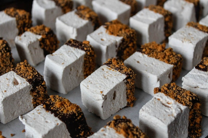 choco dipped cinnamon marshmallows