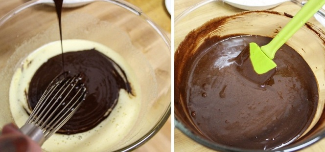 Add Chocolate To Eggs