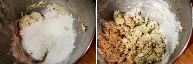 add flour mix